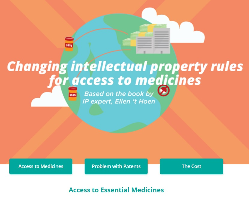 New book and website on access to medicines